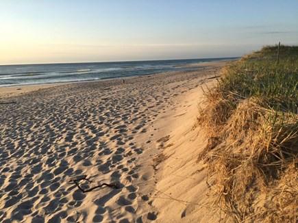 East Orleans - Walk to Asas La Cape Cod vacation rental - Nauset Beach at sunrise