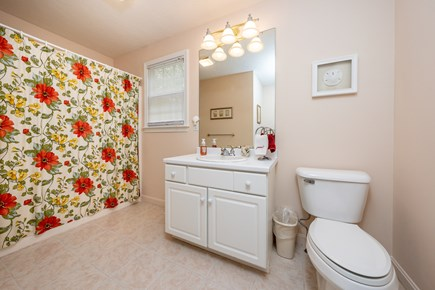 Yarmouth Port Cape Cod vacation rental - First floor, full bathroom - laundry area is around the corner