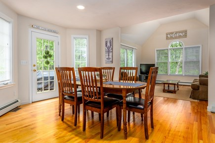 Yarmouth Port Cape Cod vacation rental - Spacious dining room with direct access to the deck