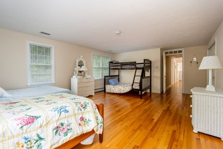 Yarmouth Port Cape Cod vacation rental - Second floor bedroom #3 (bunk bed, full and twin)