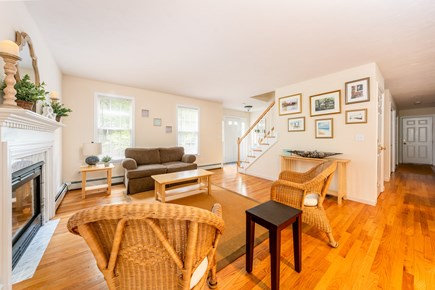Yarmouth Port Cape Cod vacation rental - Bright, flowing living room leads to the kitchen & dining rooms