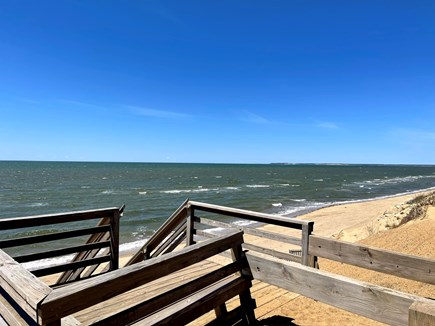 Eastham Cape Cod vacation rental - Stairs at Thumpertown Beach