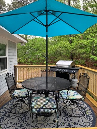 Eastham Cape Cod vacation rental - Enjoy Summer Evenings on the Deck w/Gas Grill