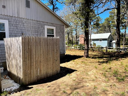 Eastham Cape Cod vacation rental - Large Enclosed Outdoor shower