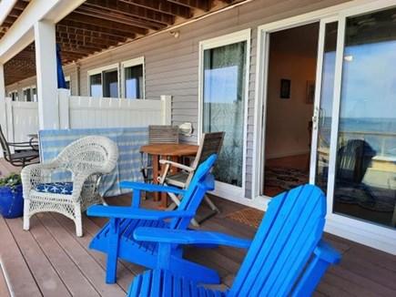 Truro Cape Cod vacation rental - Deck
