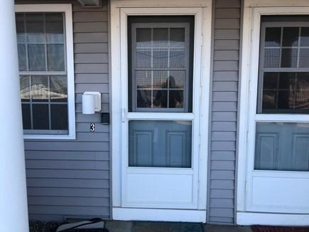 Truro Cape Cod vacation rental - Front Door