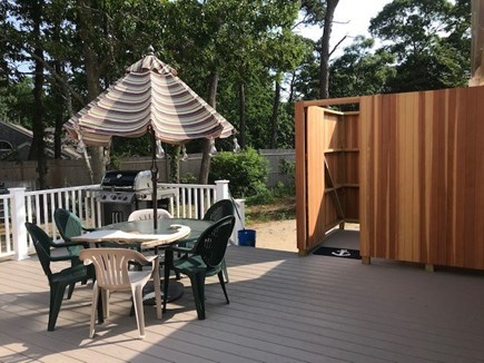 Eastham Cape Cod vacation rental - Anchor Retreat - Deck and Outside Shower