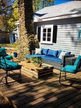 Dennisport Cape Cod vacation rental - Outside living area