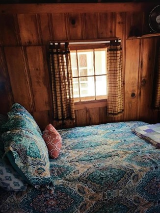 Dennisport Cape Cod vacation rental - Bedroom with 2 full beds and a 32 inch smart TVs.