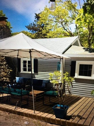Dennisport Cape Cod vacation rental - Outside seating area!