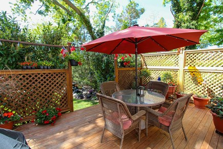 Barnstable, Osterville Cape Cod vacation rental - Private Deck