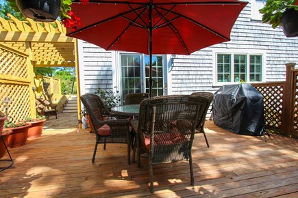 Barnstable, Osterville Cape Cod vacation rental - Deck with Gas Grill