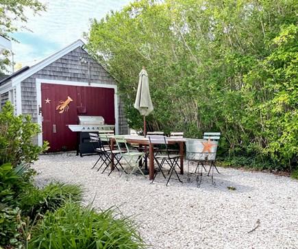 Barnstable, Hyannis Cape Cod vacation rental - Back Patio