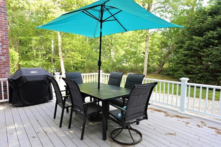 Orleans Cape Cod vacation rental - Outdoor deck