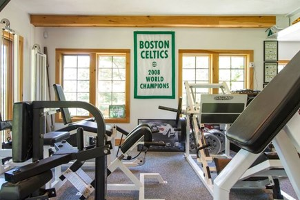 Brewster Cape Cod vacation rental - Full-Commercial 30' x 50' Gym Featuring: Hammerstrength,Nautilus