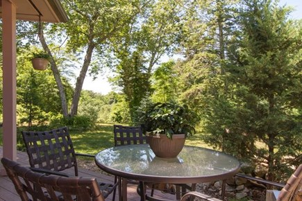 Brewster Cape Cod vacation rental - Grill-Area (Image 1)