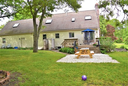 Yarmouth Port Cape Cod vacation rental - Great outdoor living space