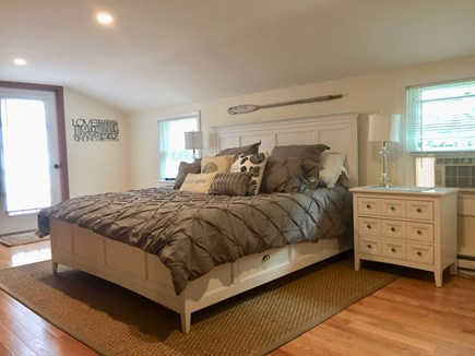 East Orleans Cape Cod vacation rental - Primary bedroom on second floor with king