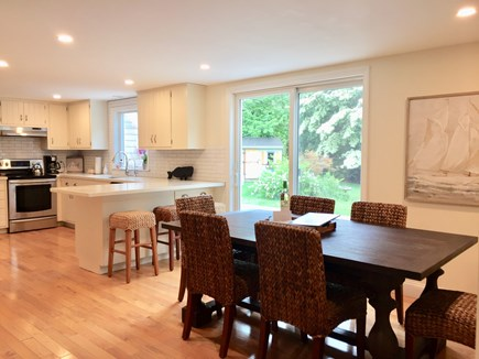 East Orleans Cape Cod vacation rental - Look at dining and kitchen