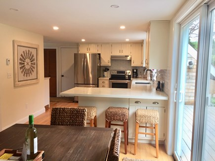 East Orleans Cape Cod vacation rental - Look at kitchen from dining area