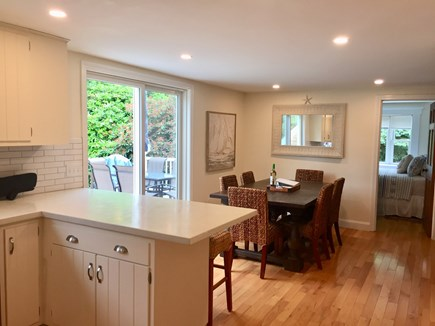 East Orleans Cape Cod vacation rental - Look at dining area from kitchen