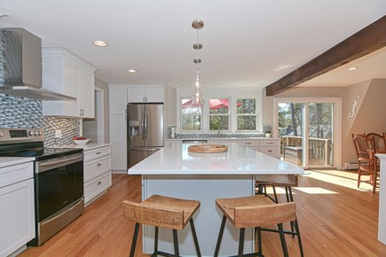 Centerville Cape Cod vacation rental - Open kitchen allows you to join the fun while prepping dinner