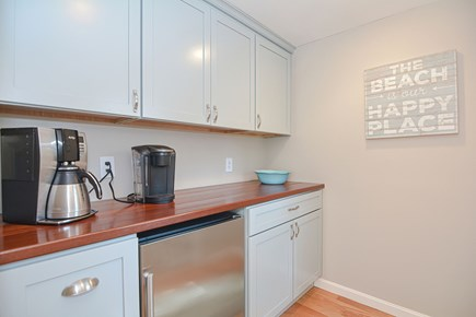 Centerville Cape Cod vacation rental - Coffee and beverage center - a fan favorite!