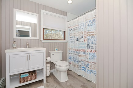 Centerville Cape Cod vacation rental - Second floor full bathroom for those who prefer indoor showers