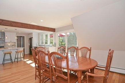 Centerville Cape Cod vacation rental - Enjoy meals and conversation around the dining table for 8