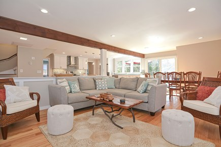 Centerville Cape Cod vacation rental - Unwind in the family room while catching a ballgame on the TV