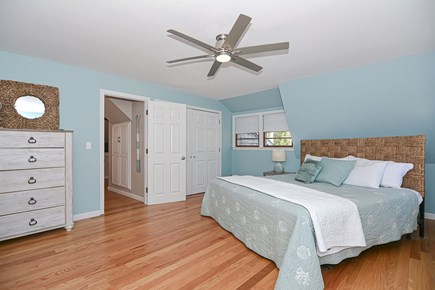 Centerville Cape Cod vacation rental - MBR with comfy king bed, two dressers, large closet, & full bath