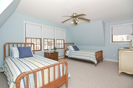 Centerville Cape Cod vacation rental - Large 2nd floor bedroom with two twin beds and walk in closet