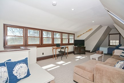 Centerville Cape Cod vacation rental - Teenager haven up top with two twin beds, couch, TV, & 1/2 bath