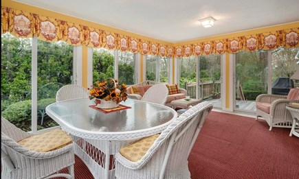 Falmouth Cape Cod vacation rental - 3 Season Porch / Sunroom - ideal for dining and relaxing