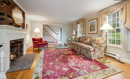 Falmouth Cape Cod vacation rental - This furniture will be updated. Will have pull out west elm couch