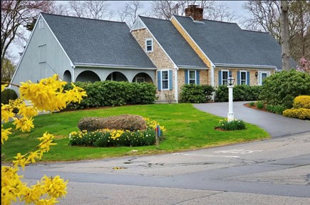 Falmouth Cape Cod vacation rental - Cape Style House with two driveways