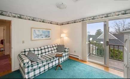 Falmouth Cape Cod vacation rental - 2nd Floor Bedroom with Pullout Couch / Game Room.