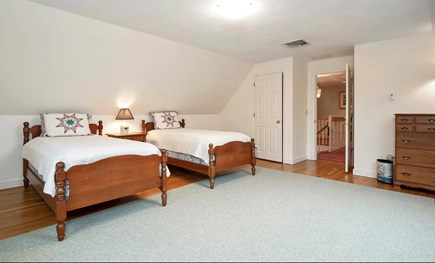Falmouth Cape Cod vacation rental - Spacious 2nd Floor Bedroom with 2 Twin Beds