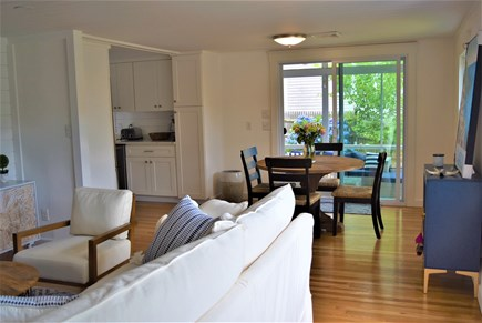 Hyannis Port Cape Cod vacation rental - Living Room open to Dining