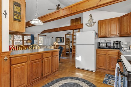 Orleans, Nauset Village Cape Cod vacation rental - High ceilings create ample space - even bathroom has a skylight!
