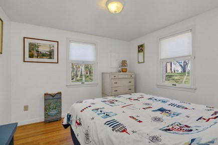 Orleans, Nauset Village Cape Cod vacation rental - Master Bedroom with Queen size bed & oversized closet
