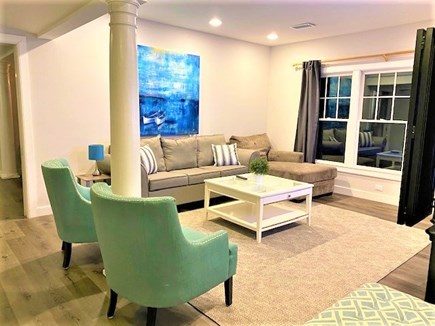 Harwich Port Cape Cod vacation rental - 1st Level Family Room