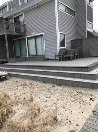 Plymouth MA vacation rental - Back Deck