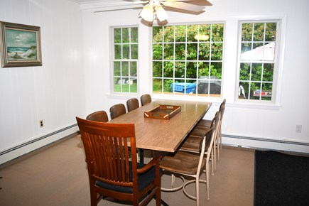 Falmouth, Bay Shore Cape Cod vacation rental - Dining Room off the kitchen!