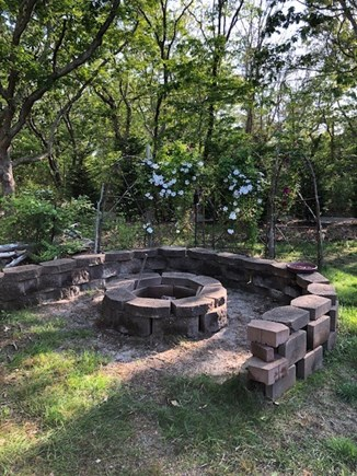 Falmouth, Bay Shore Cape Cod vacation rental - Roast marsh-mellows around the fire-pit!!