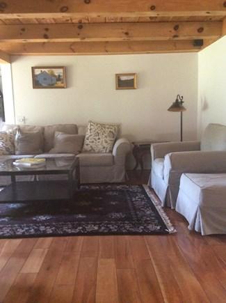 Wellfleet Cape Cod vacation rental - Spacious living room