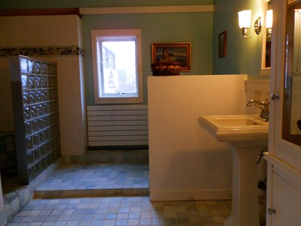 Wellfleet Cape Cod vacation rental - Full bath with walk in shower and tub
