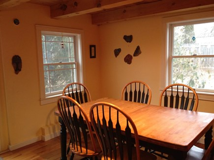 Wellfleet Cape Cod vacation rental - Ample dining space