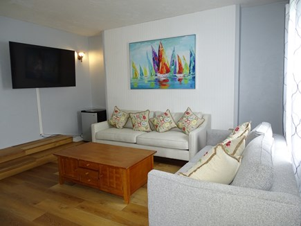 South Yarmouth Cape Cod vacation rental - A second family/game room, with 2 sofas/sleeper, TV, full bath