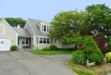 South Yarmouth Cape Cod vacation rental - Front of house faces the water, docks and marsh